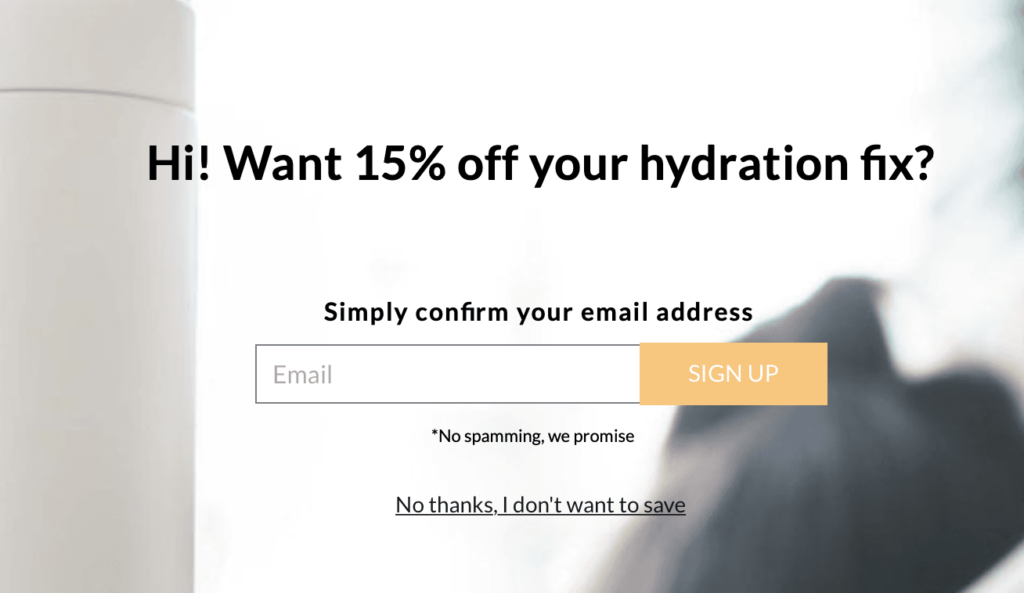 Lead Generation Funnel - Capturing Lead Information - Discount Code