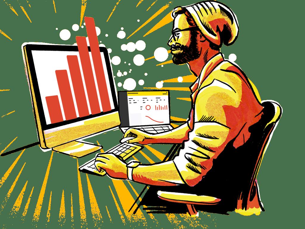 Illustration Of Breadcrumbs Revenue Acceleration Platform