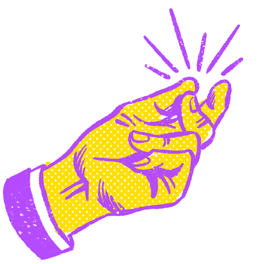 Snapping Hand Icon