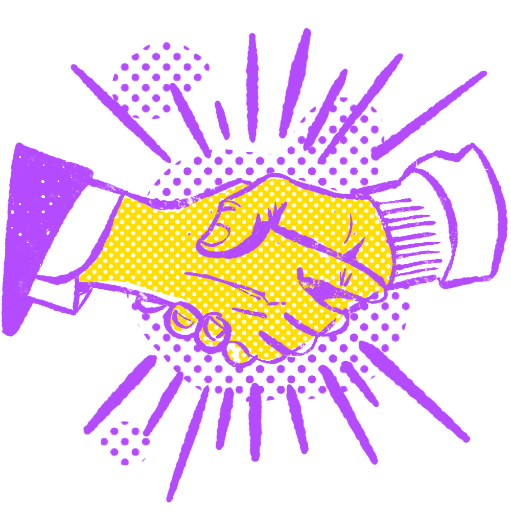 Deal Hands Icon