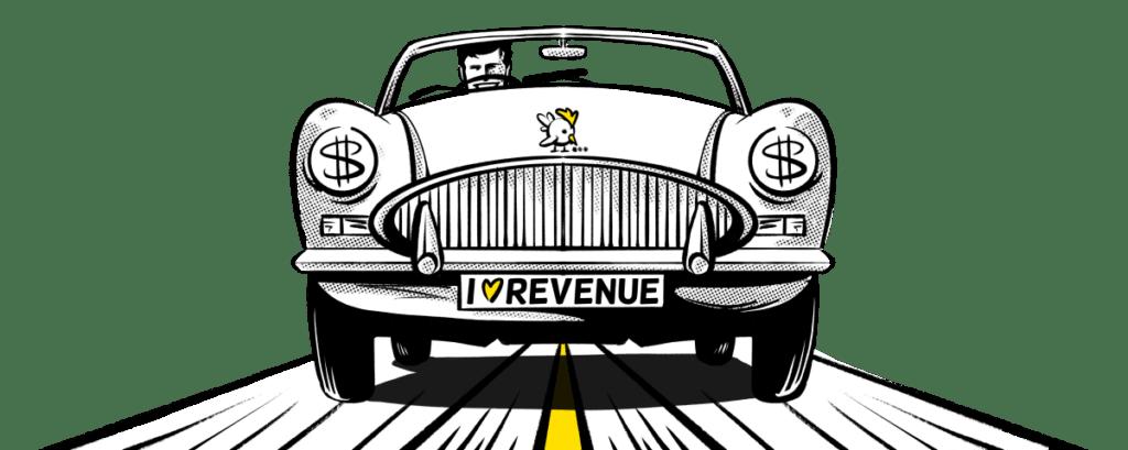 Illustration Of Breadcrumbs Revenue Acceleration Manifesto