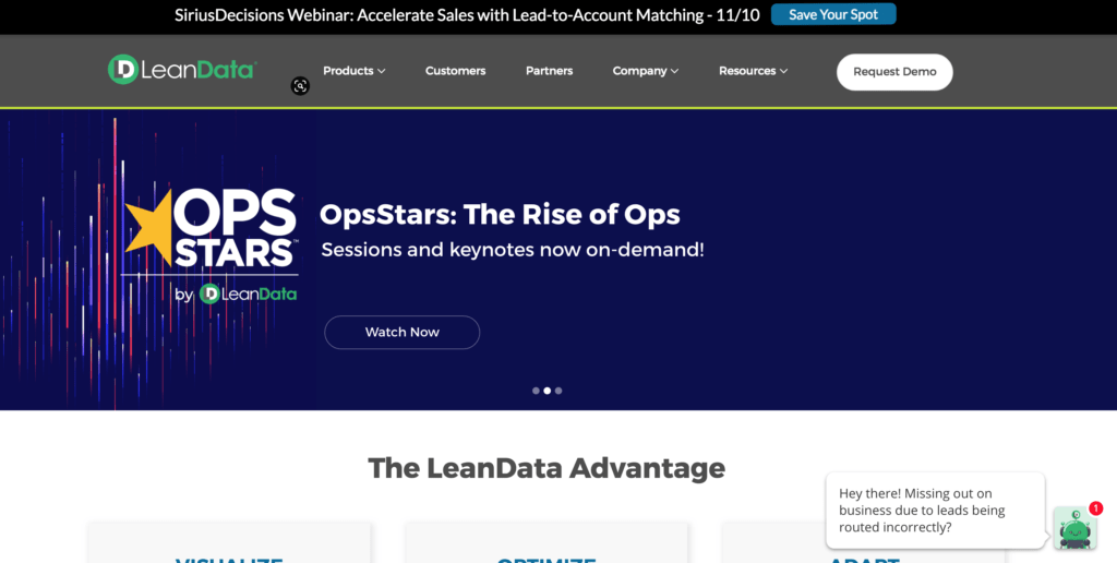 Best Account-Based Marketing Software: Leandata