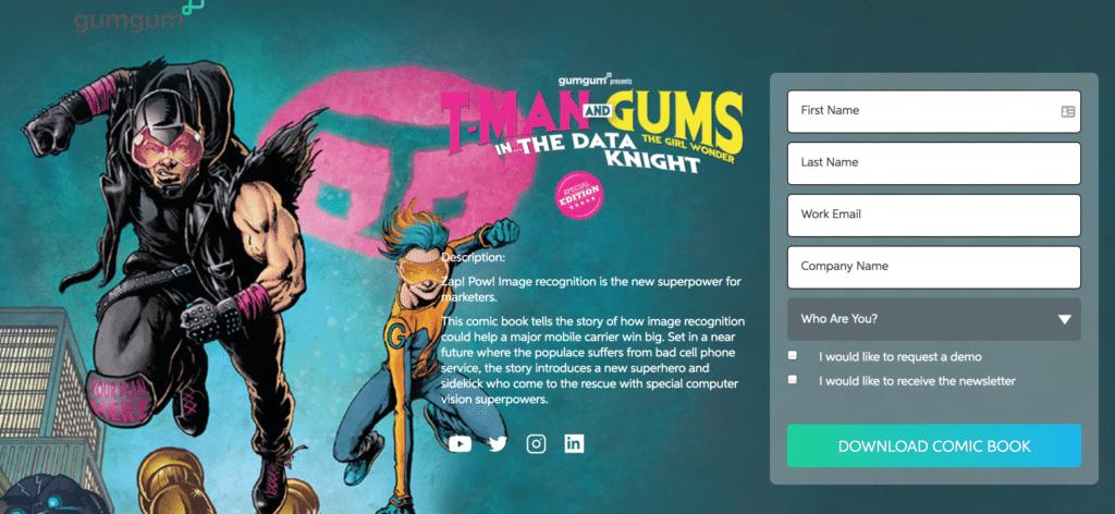 Account-Based Marketing Case Study: Gumgum's Cmo, Ben Plomion - Lead Generation Form