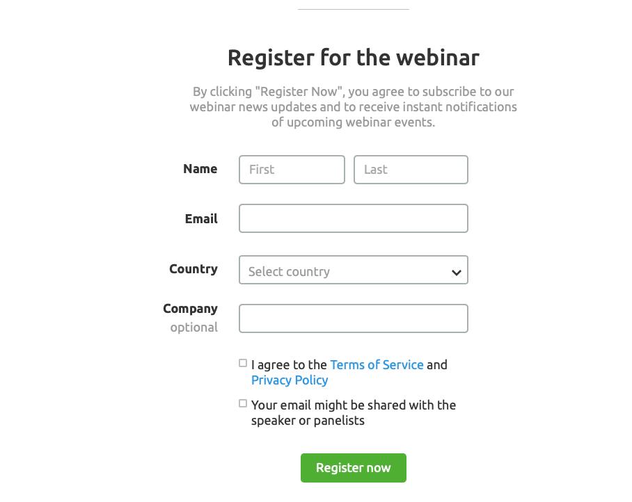 What Is Data Enrichment - Webinar Registration Form