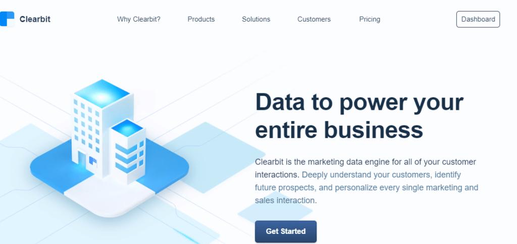 Data Enrichment Services - Clearbit
