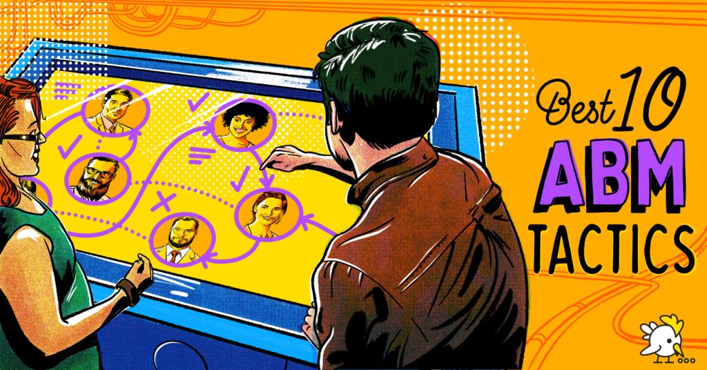 Illustration Of Abm Tactics