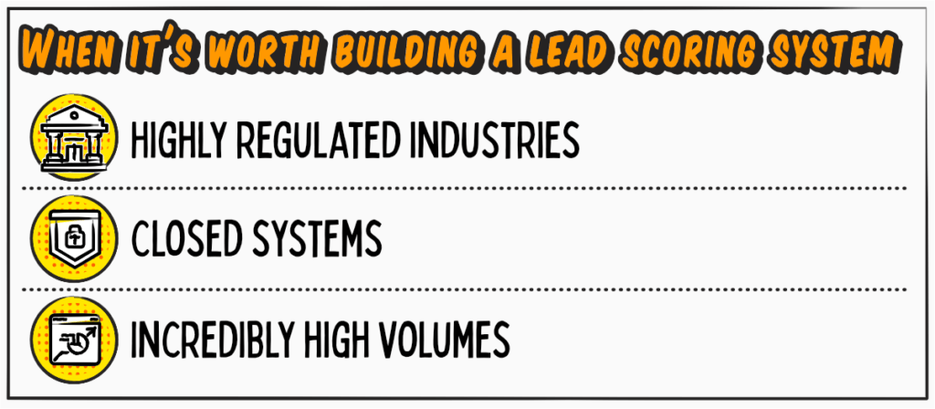 The Hidden Cost Of Building Your Own Lead Scoring System: