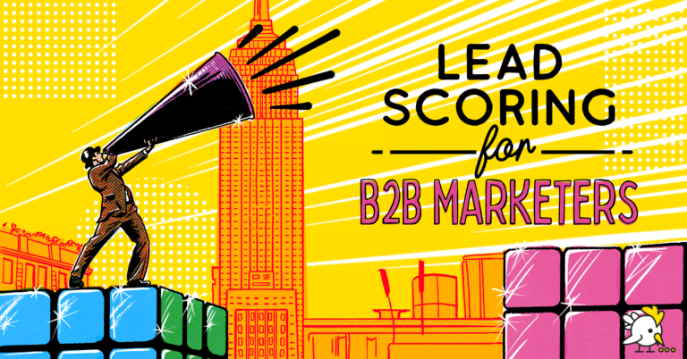 Illustration Of Lead Scoring For B2B Marketers