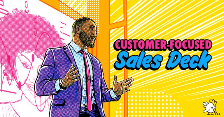 Illustration Of Customer-Focused Sales Deck