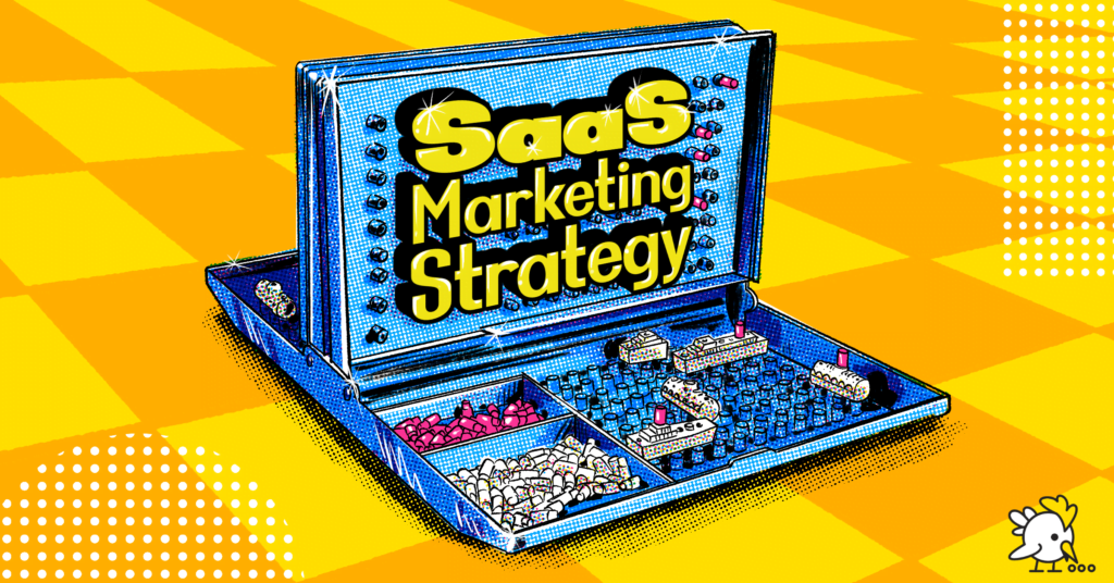 Illustration Of Saas Marketing Strategy