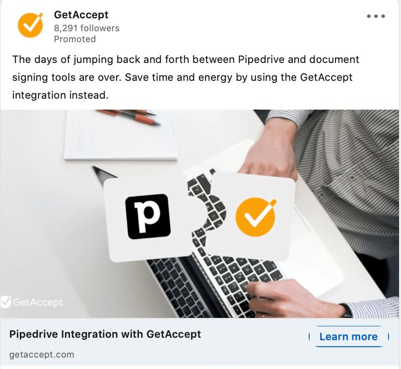 Saas Marketing Strategy: Getaccept