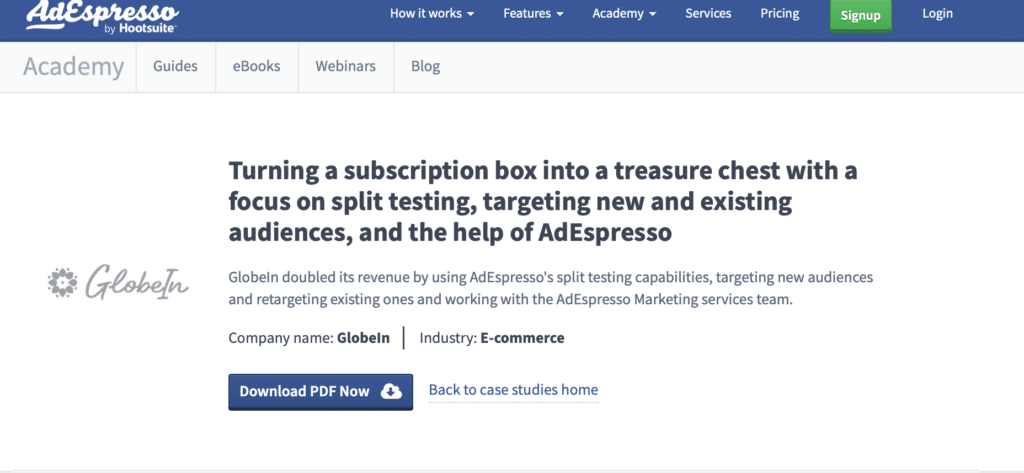 Case Study Examples: Adespresso