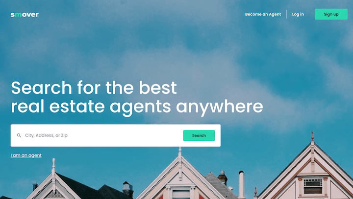 Smover Landing Page
