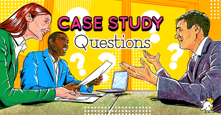 Illustration Of Case Study Questions