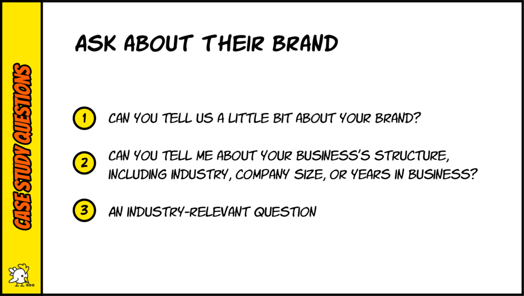 Case Study Questions About Branding