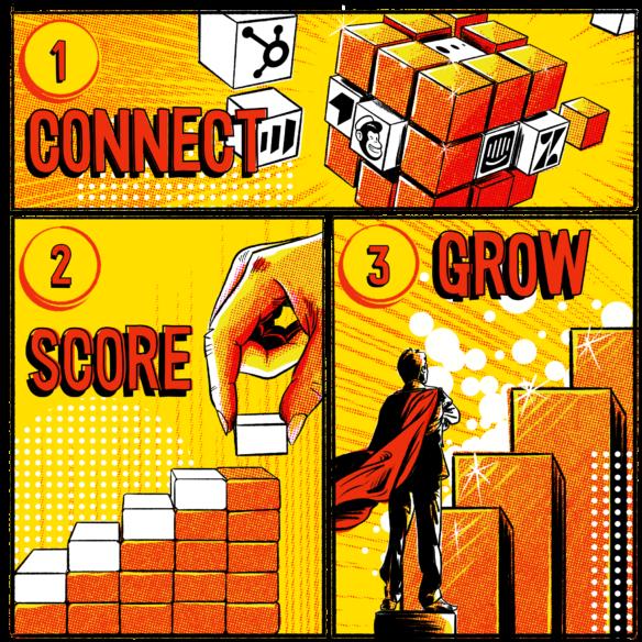 Illustration Of Revenue Acceleration Steps