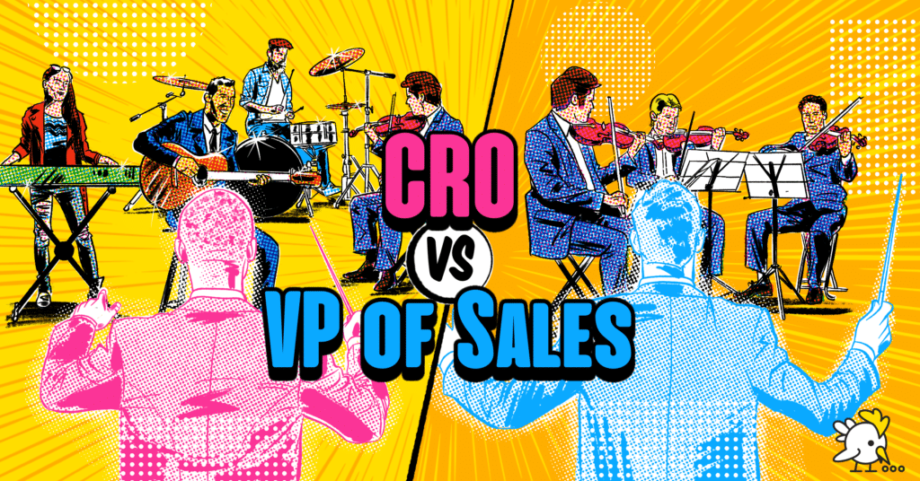 Illustration Of Cro Vs Vp Of Sales