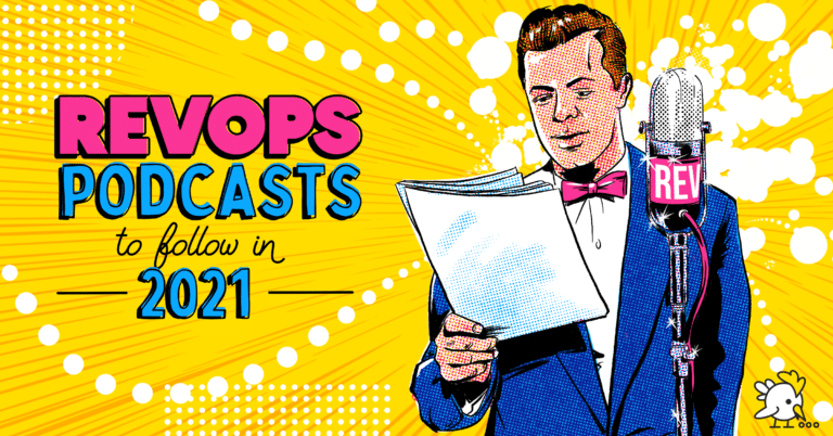 Illustration Of Revops Podcasts