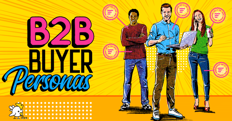 Illustration Of B2B Buyer Personas