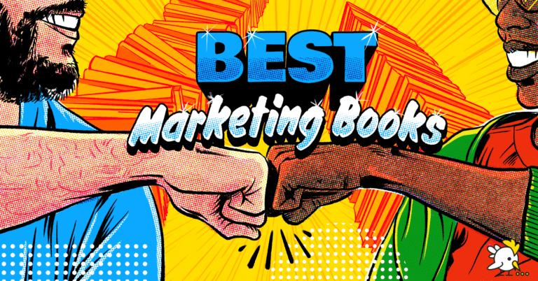 Illustration Of Best Marketing Books