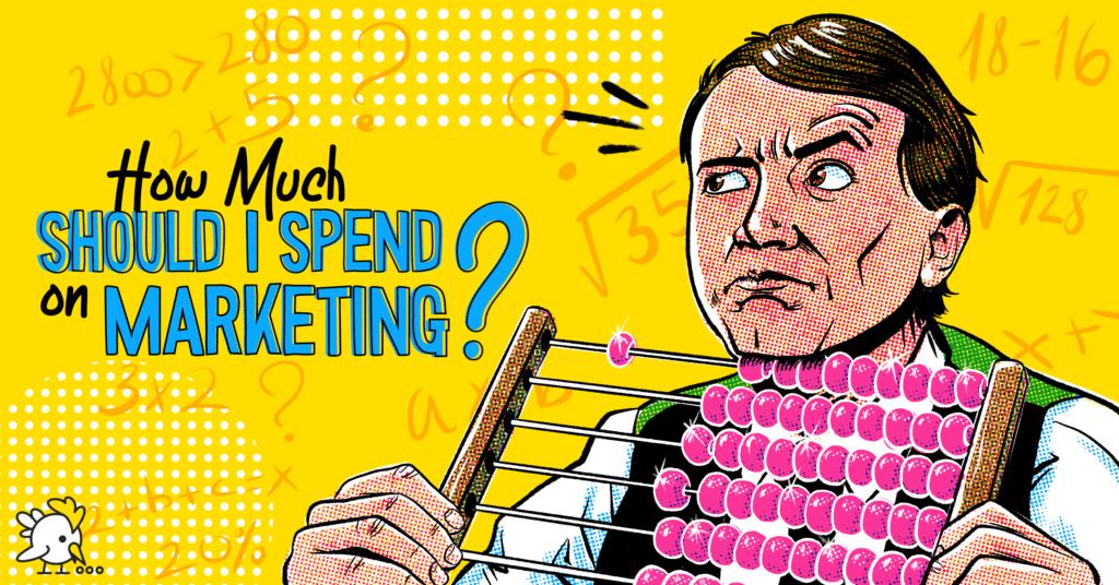 Illustration Of Spend On Marketing