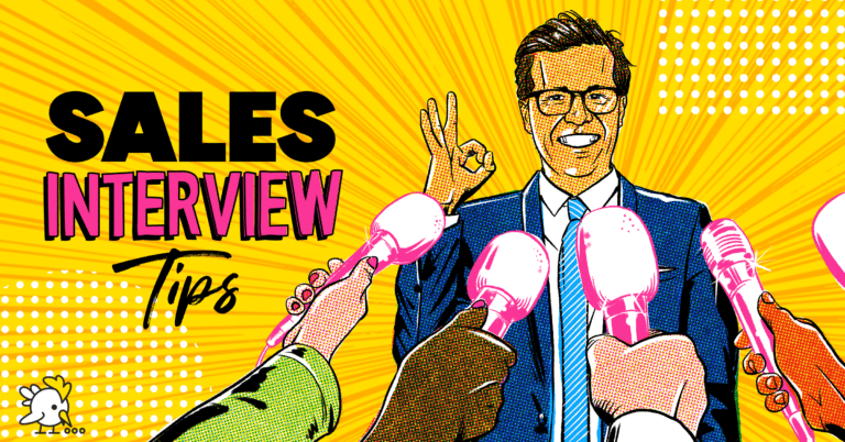 Illustration Of Sales Interview Tips