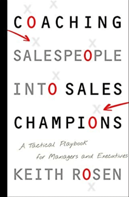 Best Sales Books: Cover Of Coaching Salespeople Into Sales Champions