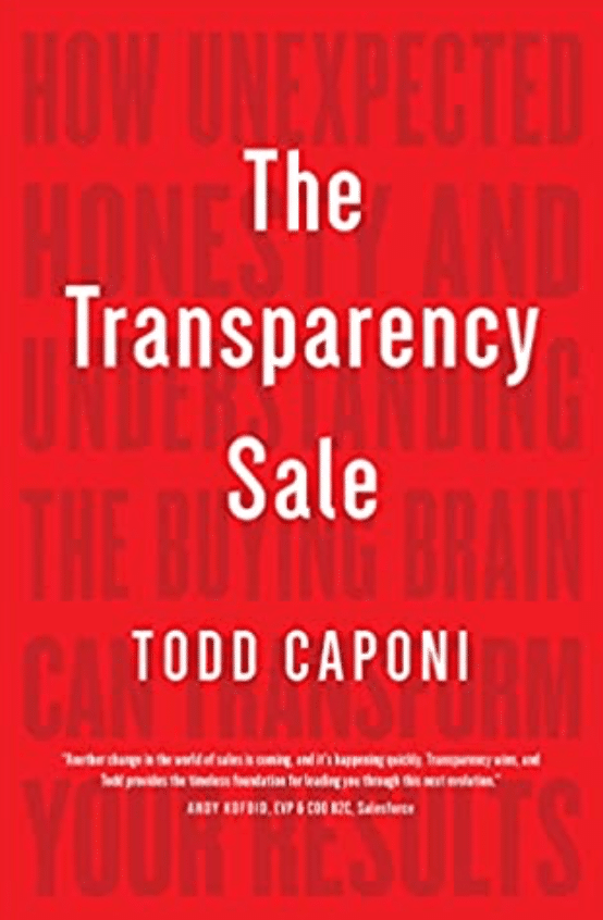 Best Sales Books: The Transparency Sale