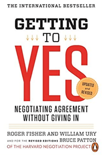 Best Sales Books: Cover Of Getting To Yes