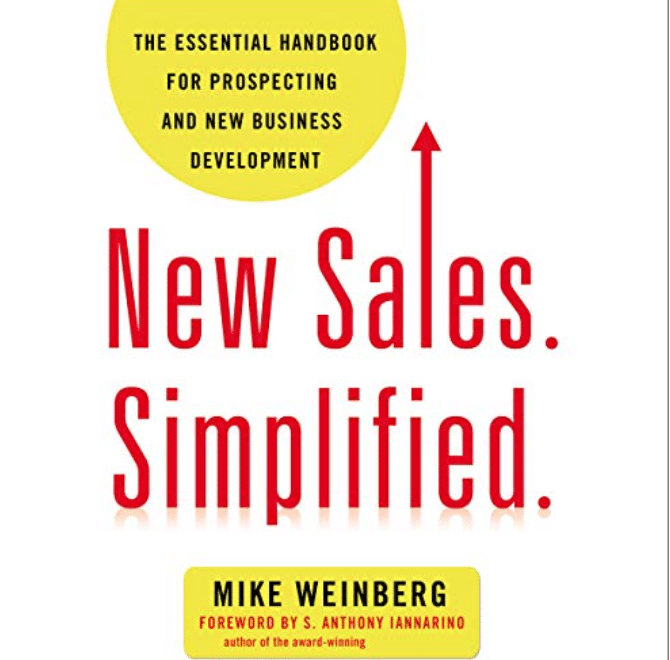 Best Sales Books: Cover Of New Sales. Simplified.