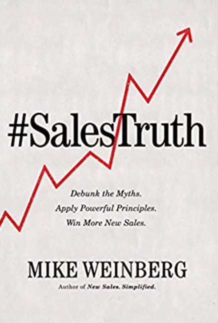 Best Sales Books: Cover Of #Salestruth