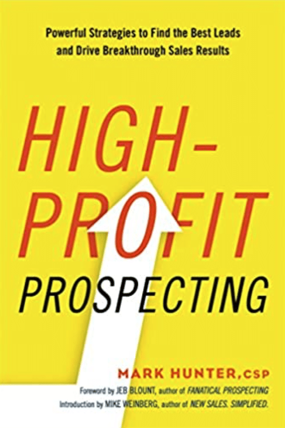Best Sales Books: Cover Of High-Profit Prospecting