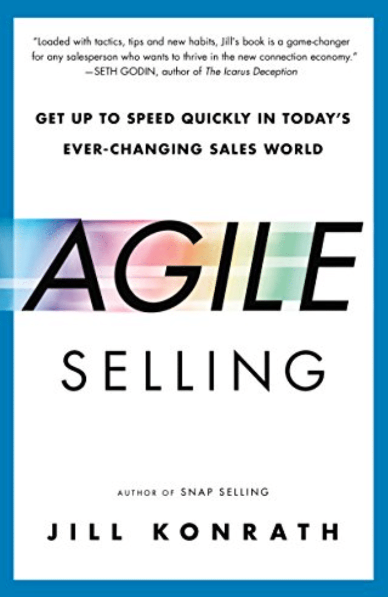 Best Sales Books: Cover Of Agile Selling
