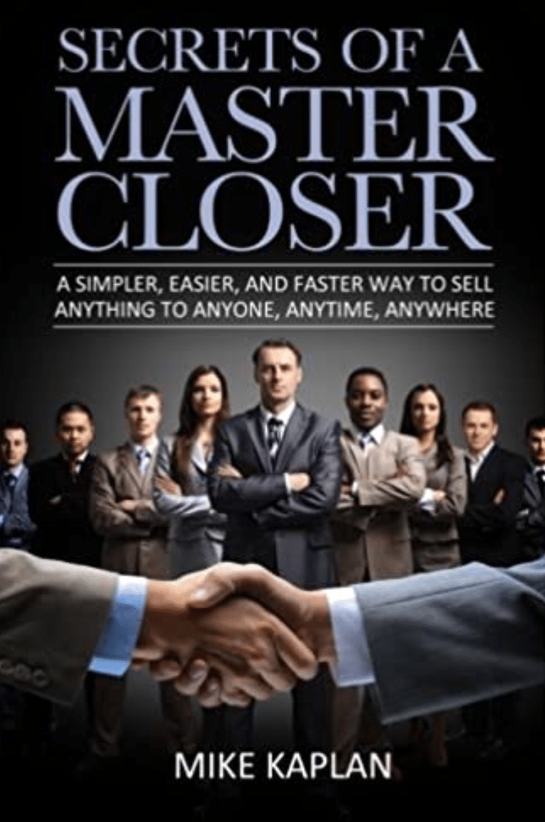 Best Sales Books: Cover Of Secrets Of A Master Closer