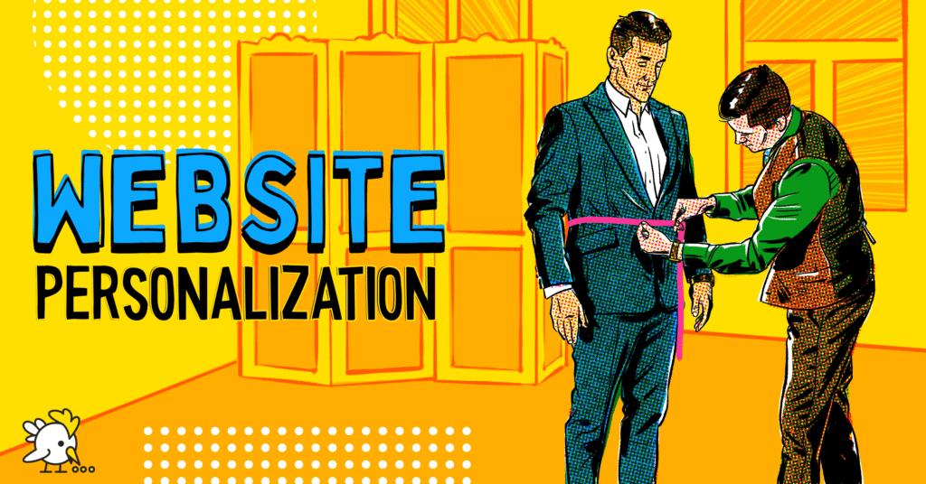 Illustration Of Website Personalization