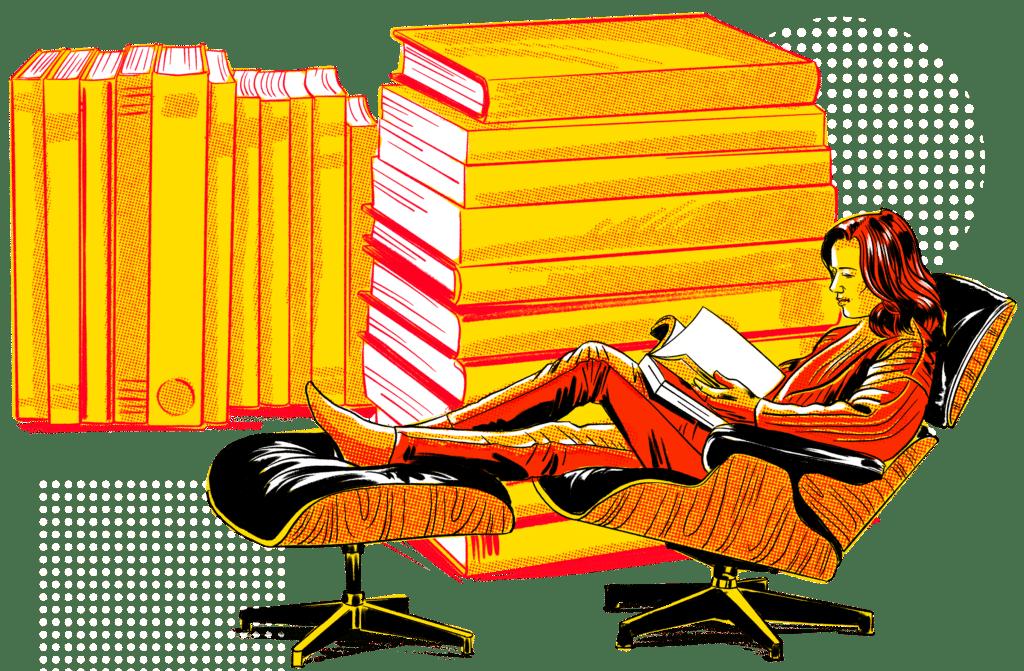 Illustration Of Ebooks