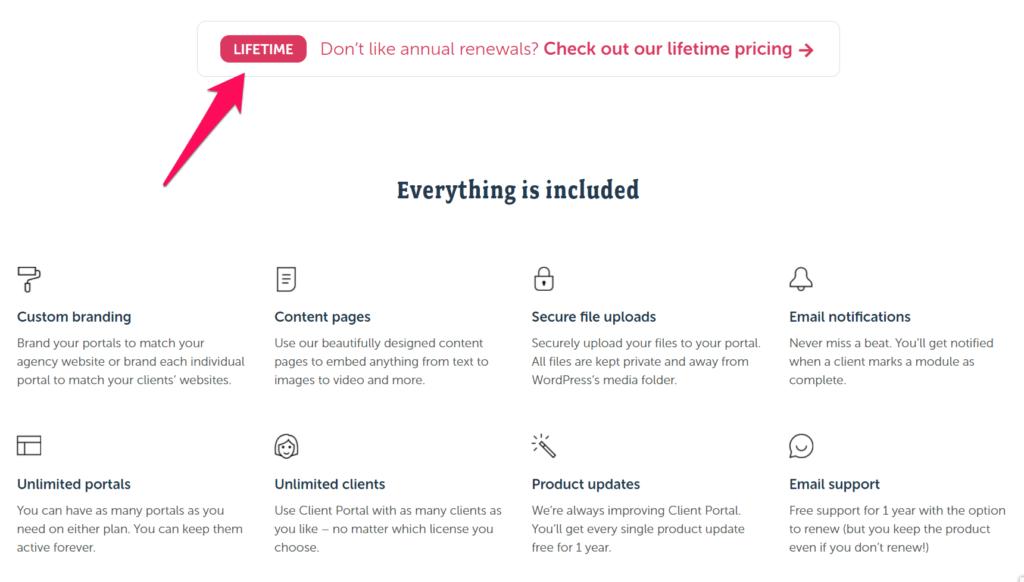 Alt=&Quot;Saas-Pricing-Page-Client-Portal-Lifetime&Quot;