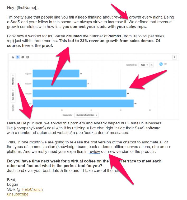Alt=&Quot;Sales-Pitch-Examples-Helpcrunch-Cold-Pitch&Quot;