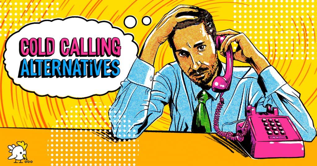 Illustration Of Cold Calling Alternatives