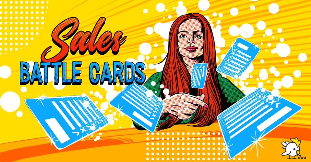 Illustration Of Sales Battle Cards