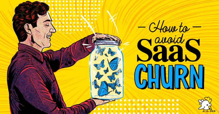 Illustration Of Saas Churn