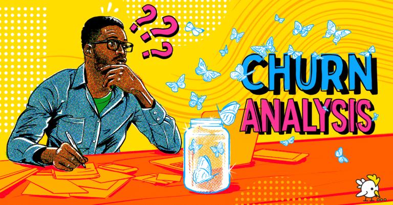 Illustration Of Churn Analysis