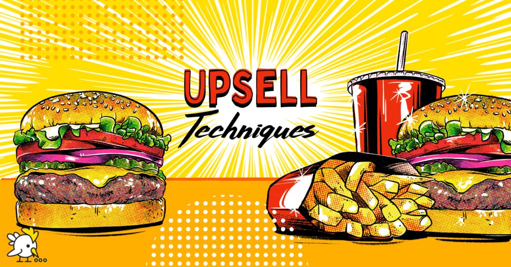 Illustration Of Upsell Techniques