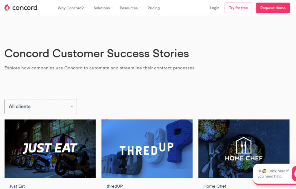 Price Optimization: Concord Customer Success Stories